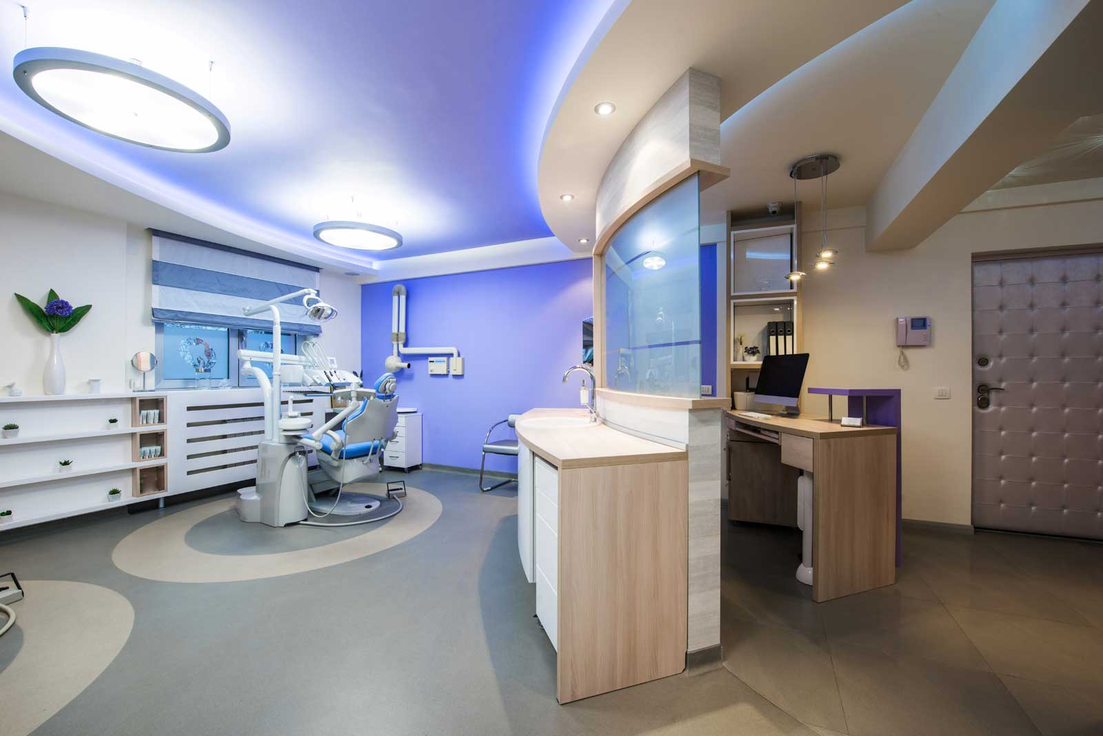 Instalaciones de la clínica dental Domínguez Andújar